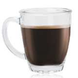 פילטר – ספל קפה עשוי זכוכית