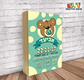 תעודת לידה מס' 17 – דובי בנים